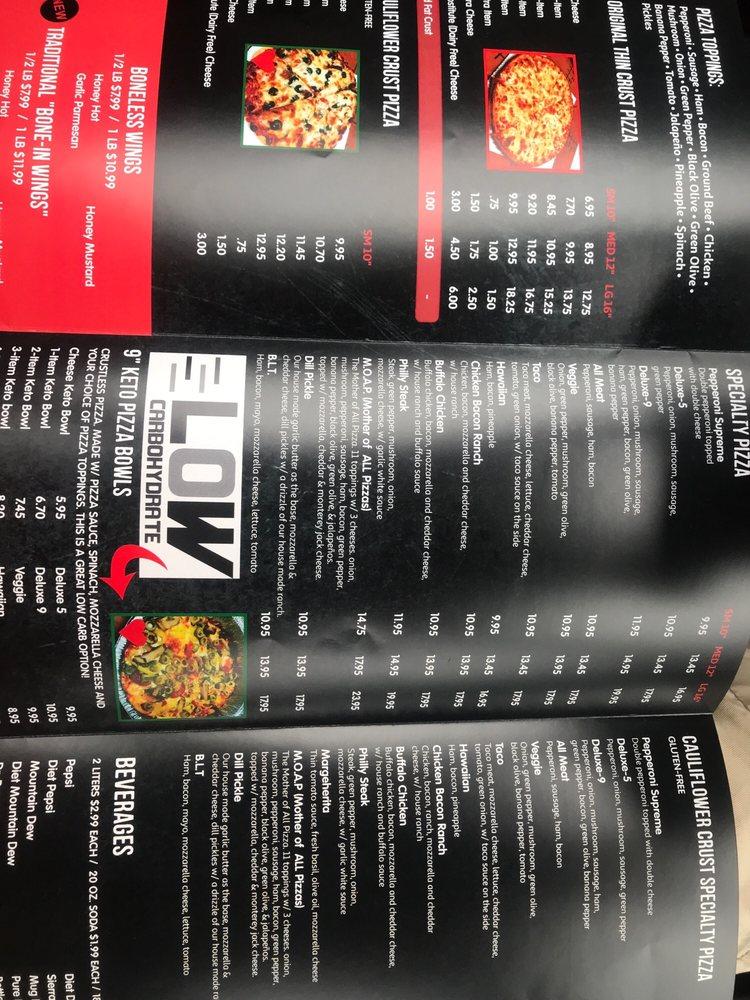 Dougie John's Pizza: 485 N Perry St, Ottawa, OH