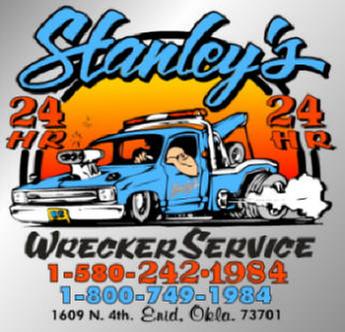 Stanley's Wrecker Service: 1609 N 4th St, Enid, OK