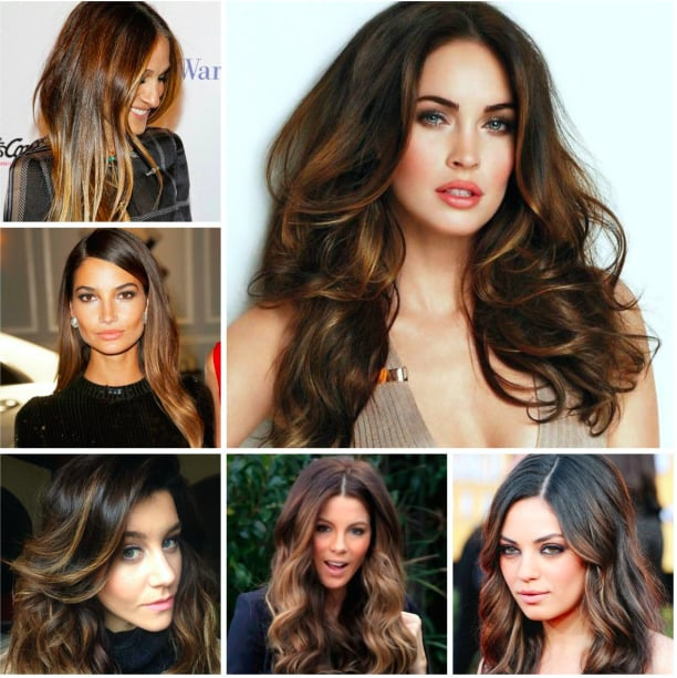 2016 Trendy Highlights For Dark Brown Hair Yelp