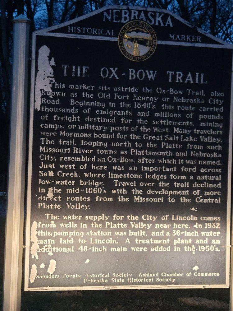 The Oxbow Trail: 501 US-6, Ashland, NE