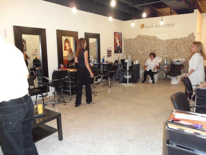 International hair boutique hair salons 79 merrick way for Abaka salon coral gables