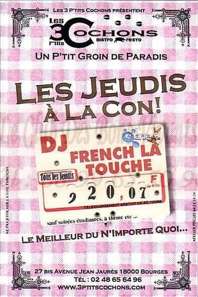 Les 3 P'tits Cochons - Bourges