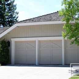 Custom Garage Doors Made Out Of Composite Wood Materials
