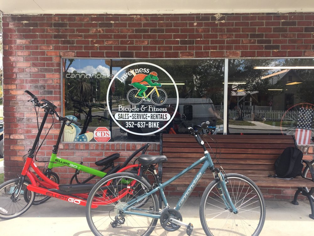 Inverness Bicycle & Fitness: 130 N Pine Ave, Inverness, FL
