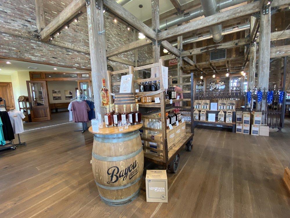 Bayou Rum Distillery: 20909 S Frontage Rd, Lacassine, LA