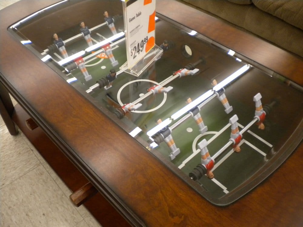They Sell A Foosball Coffee Table Yelp