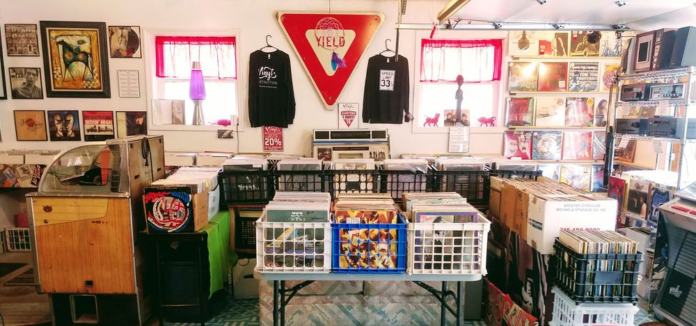 The Vinyl Destination: 32 Charles St, Ballston Spa, NY