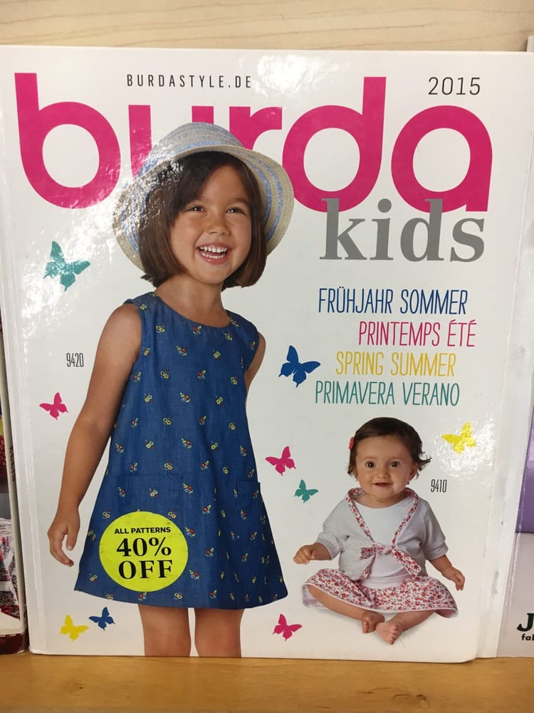Pattern Books For Kids By Burda A German Fashion And Sewing