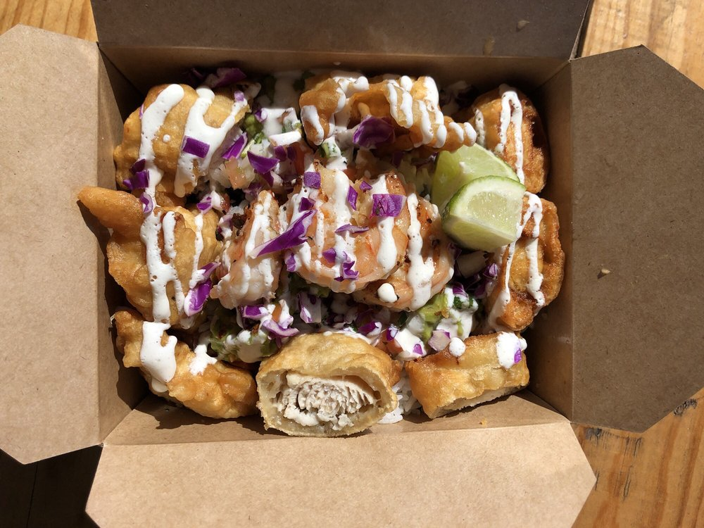 Food from Maries Baja Fish Tacos