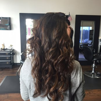 Hair Cut And The First Steps To A Balayage Ombre Color By
