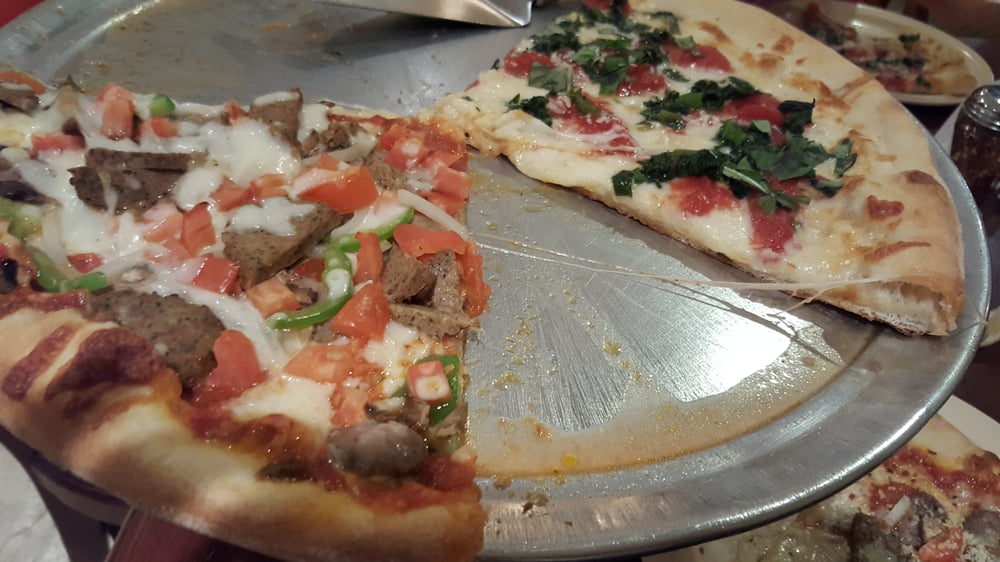 Half and half the boss and margherita pizza yelp for Anthony s creative italian cuisine