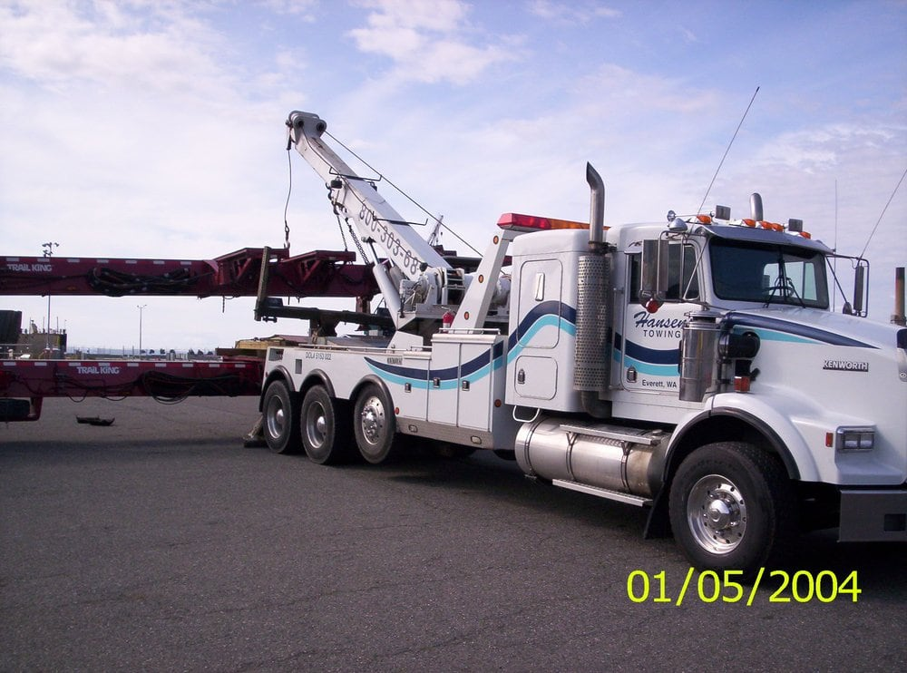 Hansen's Towing: 3409 McDougall Ave, EVERETT, WA