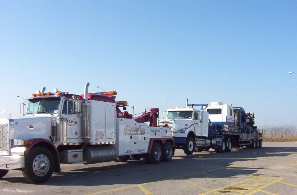 Cavin Wrecker Service: 10324 N 2410th Rd, Weatherford, OK