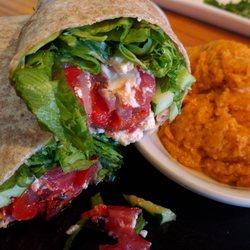 Photo Of Marina Variety Restaurant Charleston Sc United States Veggie Wrap