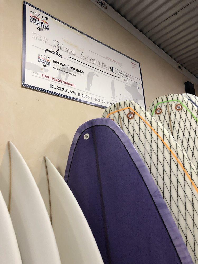 Kazuma Surf Factory: 375 W Kuiaha Rd, Haiku, HI