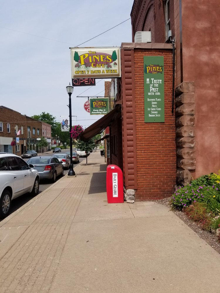 The Pines Cafe: 120 S Suffolk St, Ironwood, MI