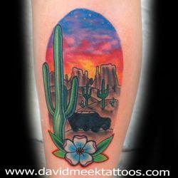 898333869ac88 Photo of David Meek Tattoos - Tucson, AZ, United States. Tucson Arizona  saguaro