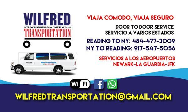 Wilfred Transportation - Public Transportation - Reading, PA