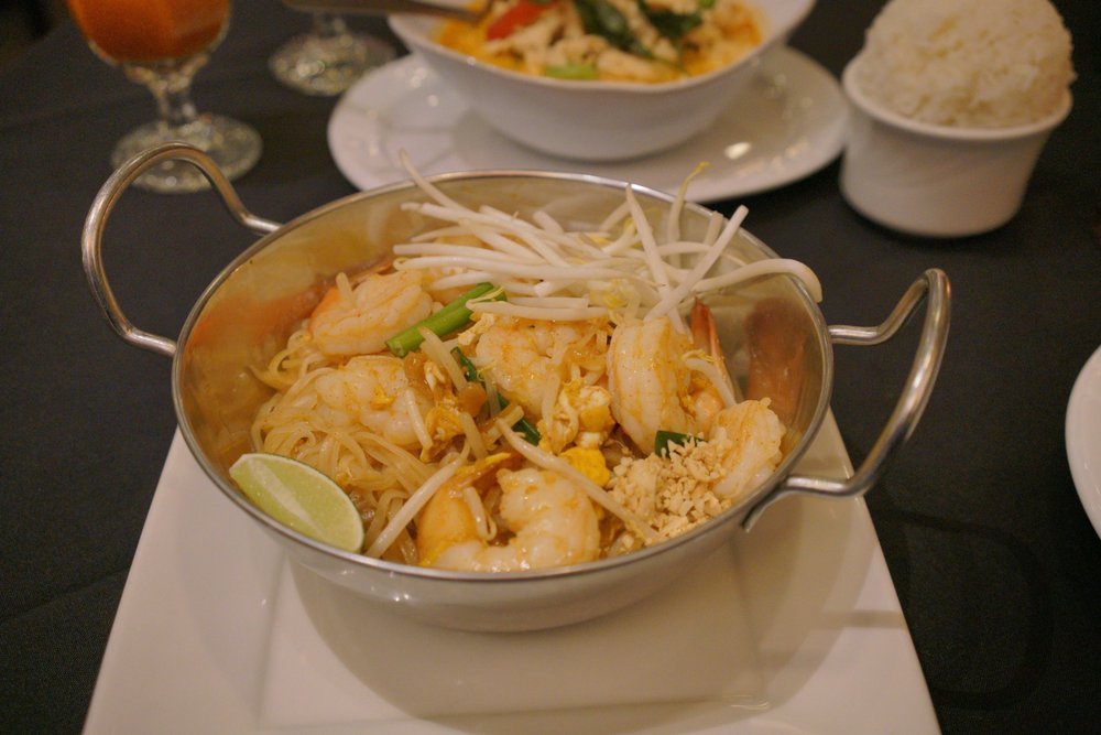 Food from Pad Thai Restaurant