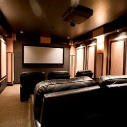 Photo Of Livingsound Wichita Ks United States Custom Home Theater By