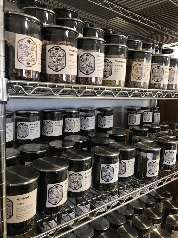 Garden Nook Tea & Gifts: 400 Parker Ave W, Dassel, MN