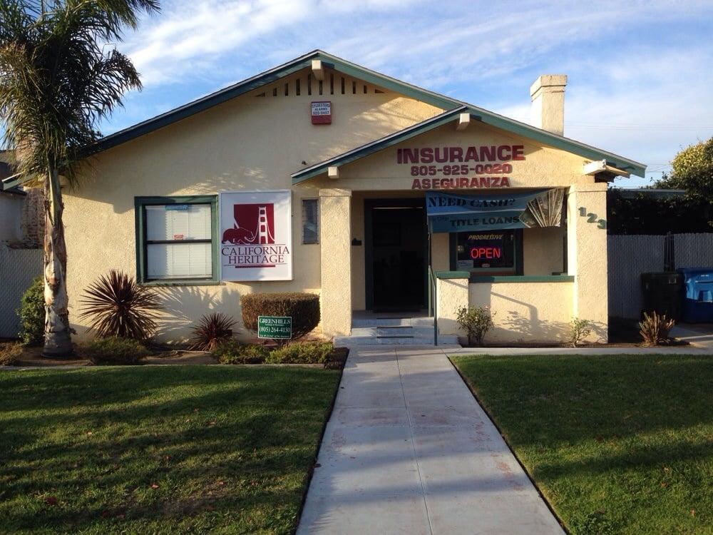 California heritage insurance services assurance auto et for Assurance auto et maison
