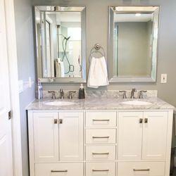 Photo Of Luxury Bath Palm Harbor Fl United States Added More Storage