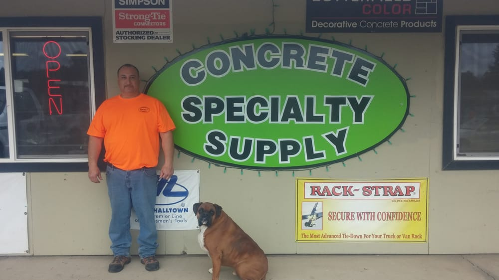 Concrete Specialty Supply: 7702 NE 219th St, Battle Ground, WA