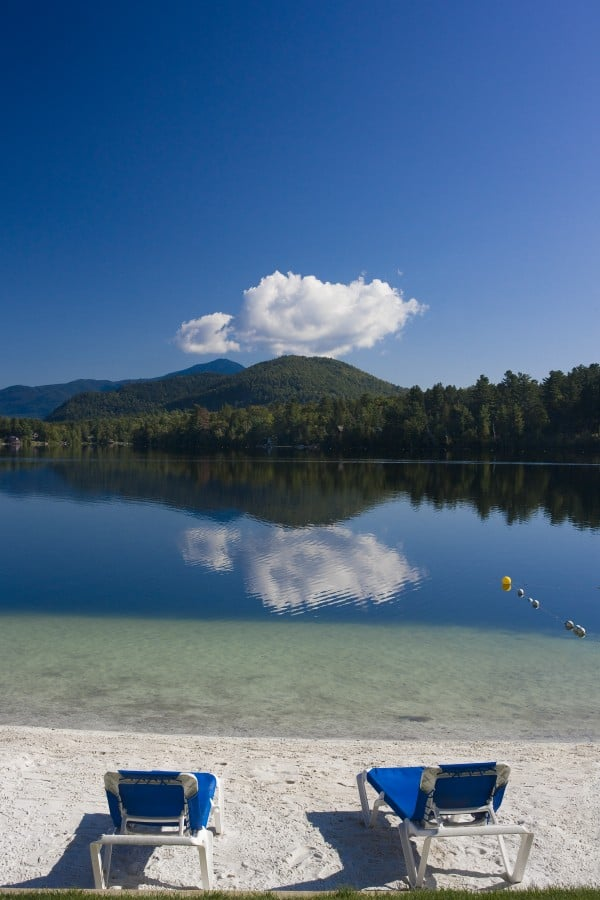amazing view of whiteface mountain from our beach yelp. Black Bedroom Furniture Sets. Home Design Ideas