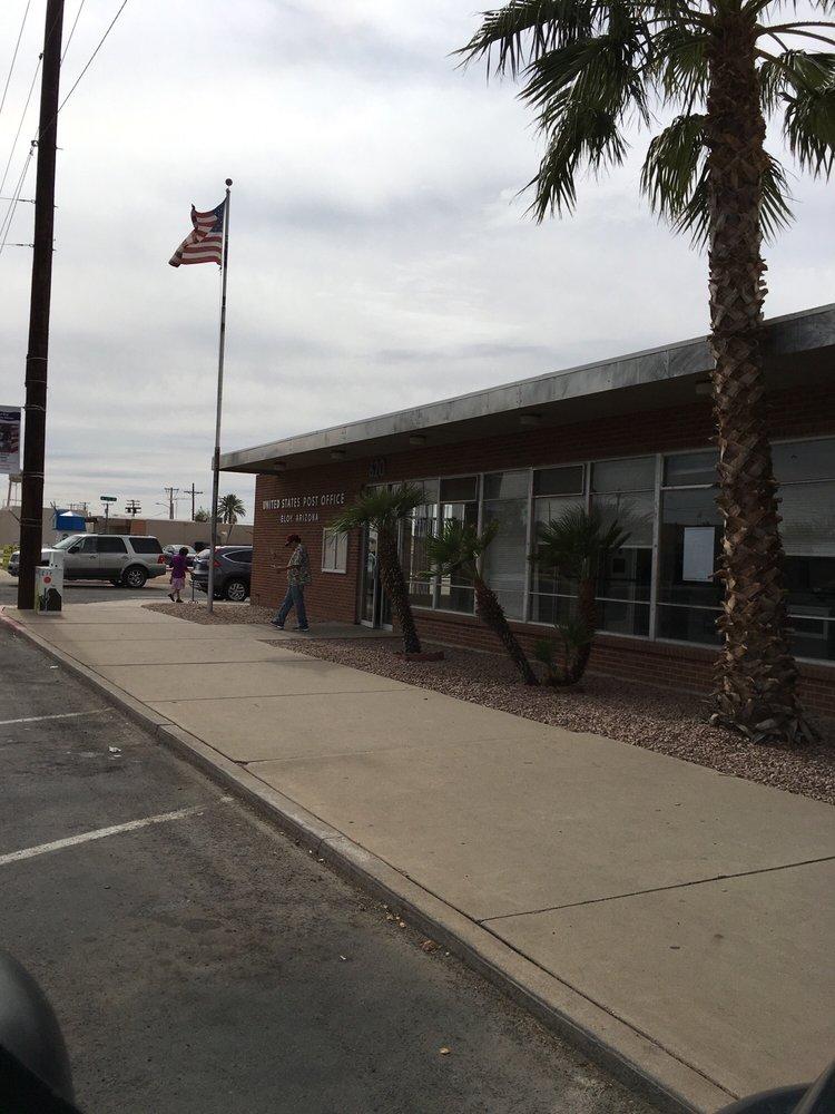 US Post Office: 620 N Main St, Eloy, AZ