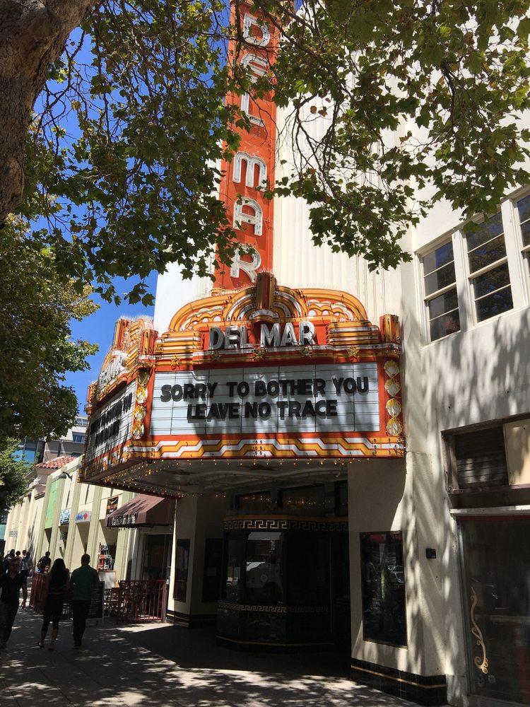 Del Mar Theatre: 1124 Pacific Ave, Santa Cruz, CA