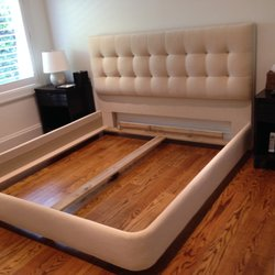 Photo Of J D Upholstery   Miami, FL, United States. Custom Headboard And  Surround