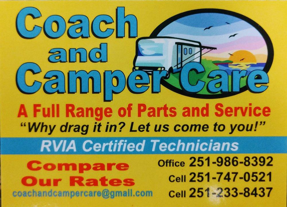 Coach & Camper Care RV Repair Service: 12096 County Road 95, Elberta, AL