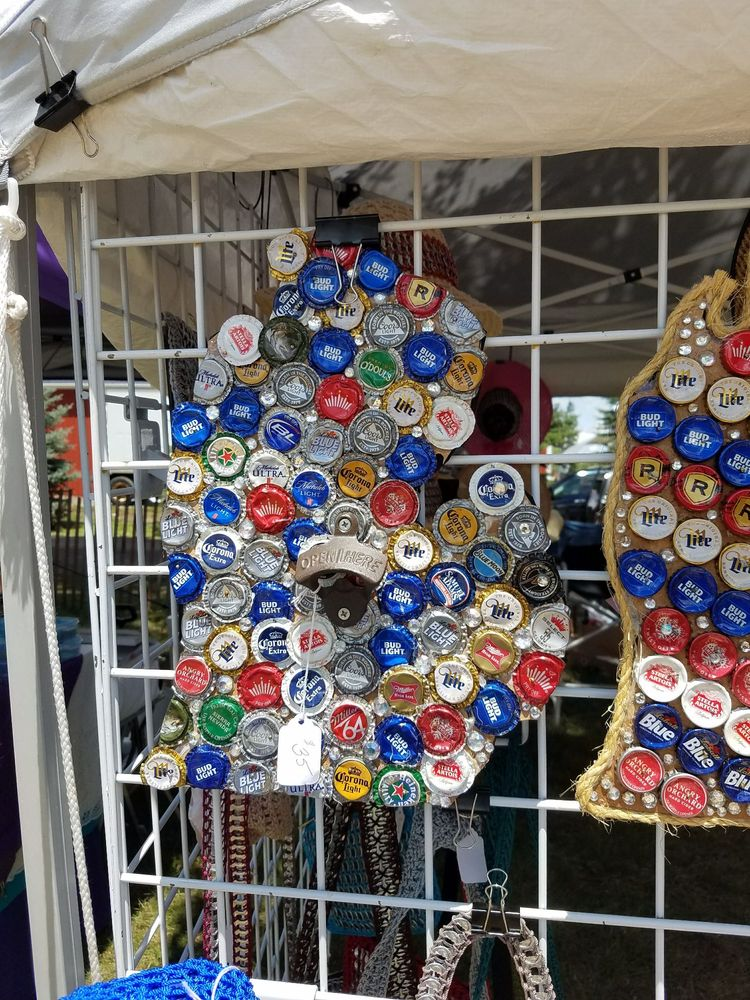 How Cool Is This The Michigan Map Made Out Of Bottle Caps Yelp - Michigan bottle cap map