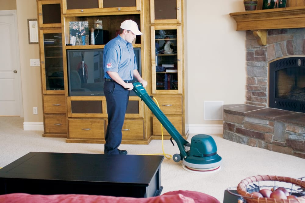 Our Low Moisture Cleaning Process Leaves Carpets Looking