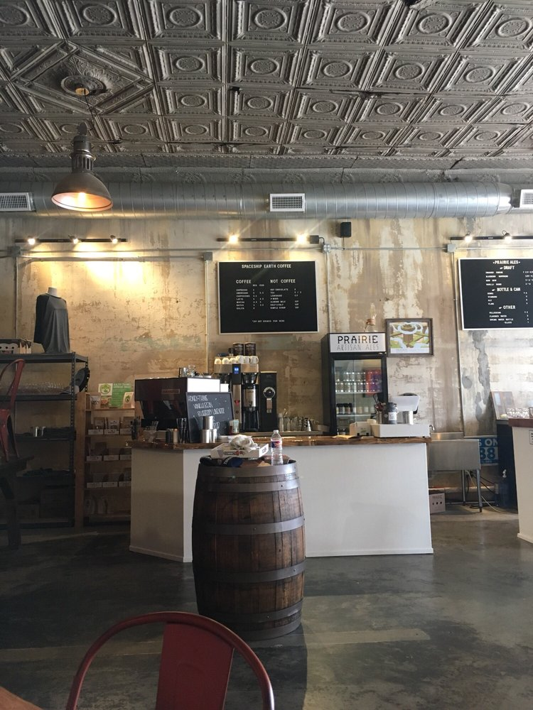 Spaceship Earth Coffee: 345 E Choctaw Ave, McAlester, OK