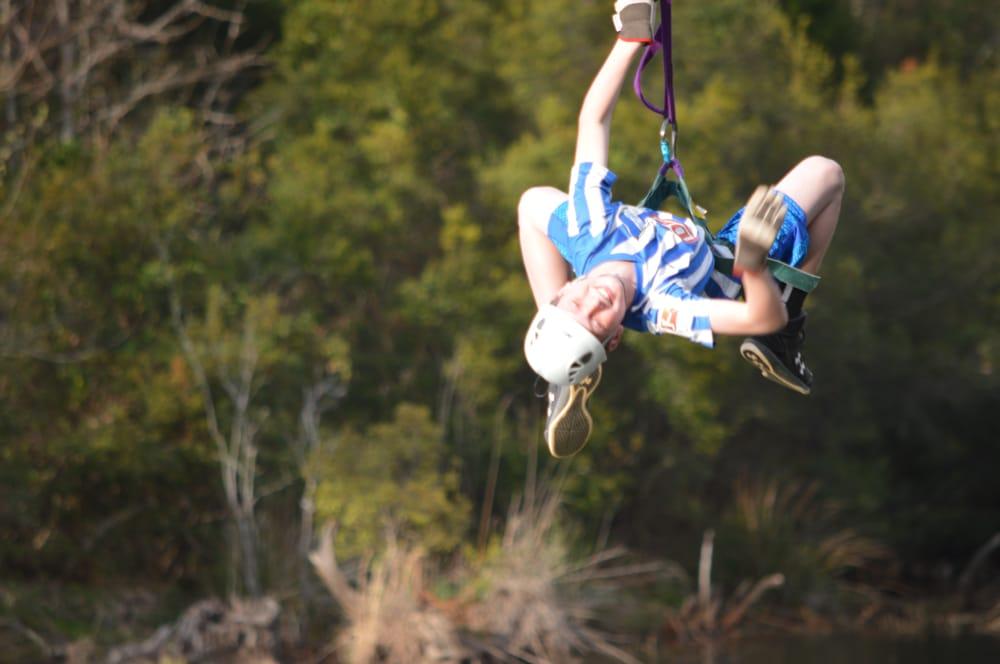 Adrenaline Rush Zip Line Tours: 2371 County Rd 1613, Jacksonville, TX