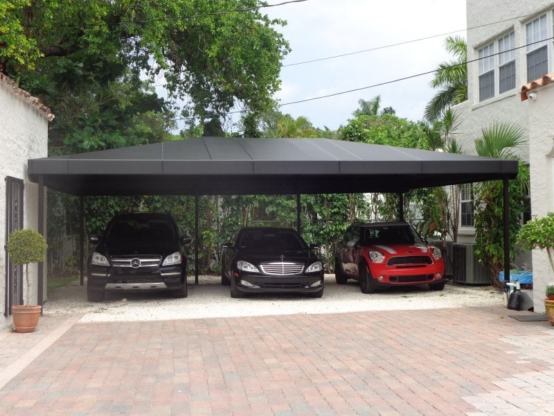 Carport Awning in Miami by Sunshine Awnings - Yelp
