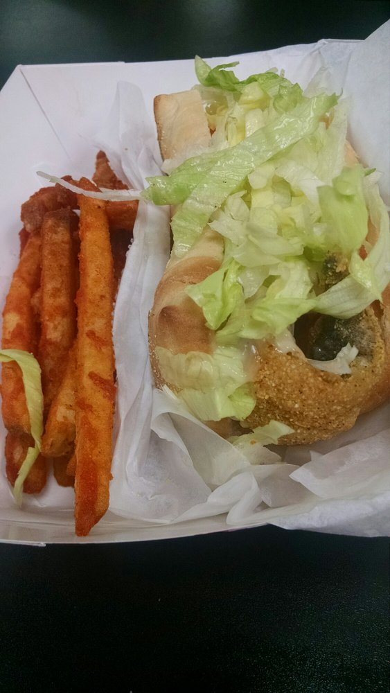 Coco 39 s famous deep fried fish sandwich yelp for Fried fish sandwich near me