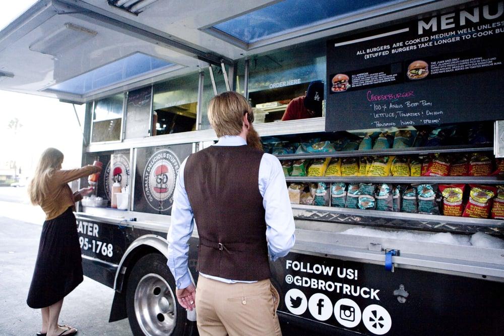 Gd Bro Burger Food Truck
