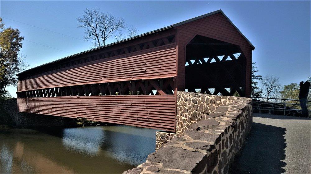 Sach's Covered Bridge: Gettysburg, PA