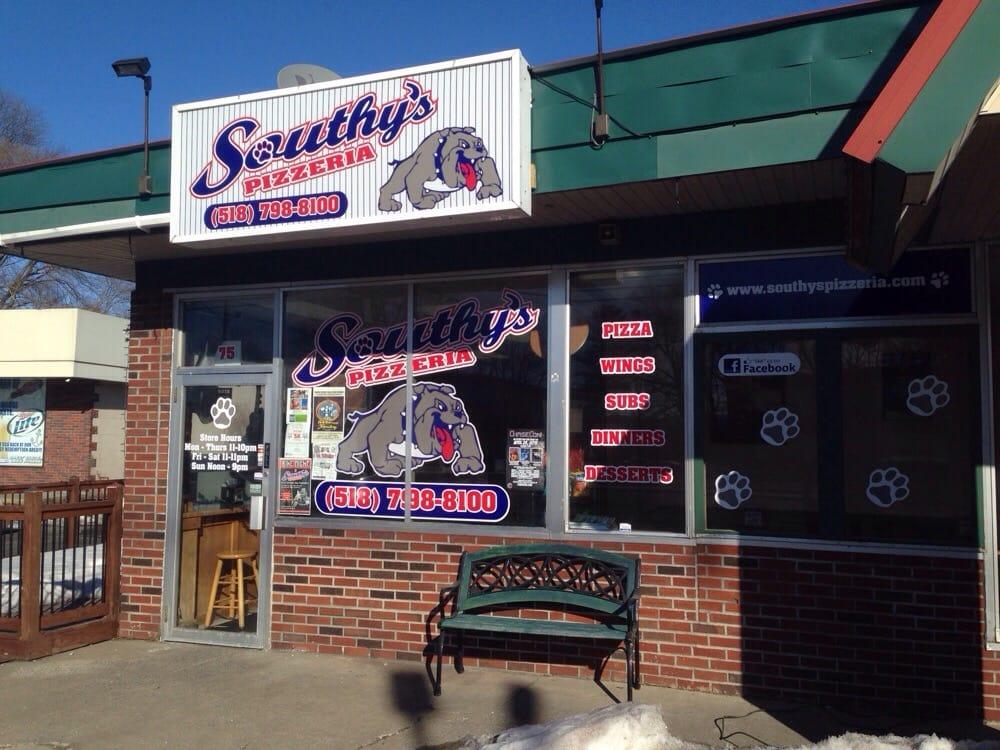 Southy's Pizzeria: 75 Saratoga Ave, South Glens Falls, NY
