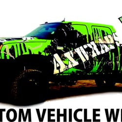 Photo of Axiom Graphics - Porterville, CA, United States. GET YOUR WRAP ON