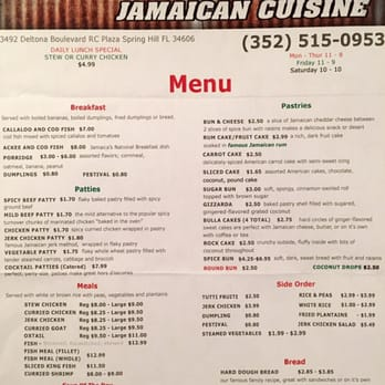 Photo Of Ocho Rios Cafe Spring Hill Fl United States Dine In