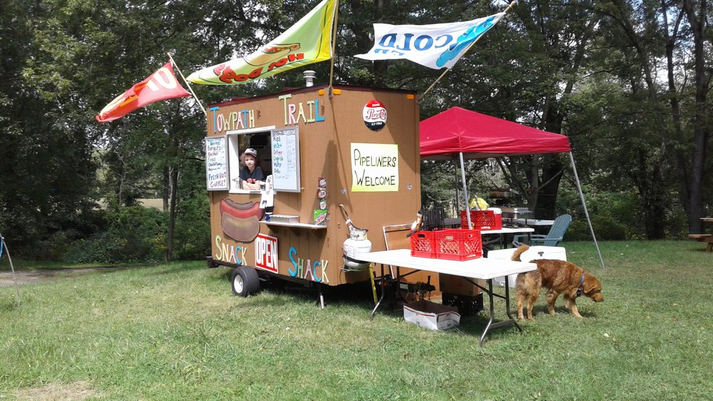 Towpath Trail Snack Shack: 689 State Rte 212 NW, Bolivar, OH