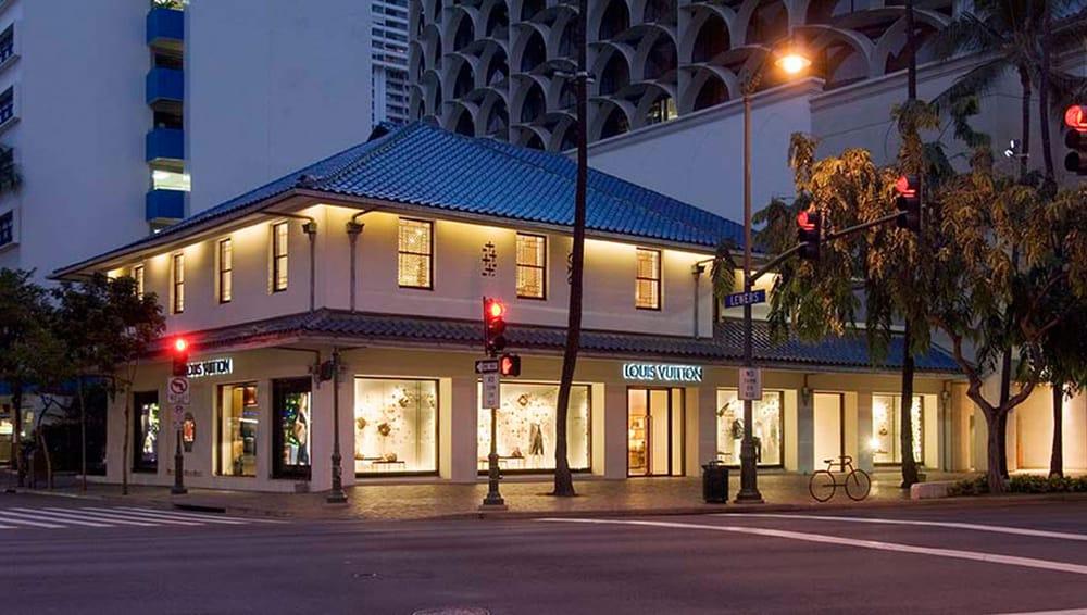 Louis Vuitton Honolulu Gump's Building