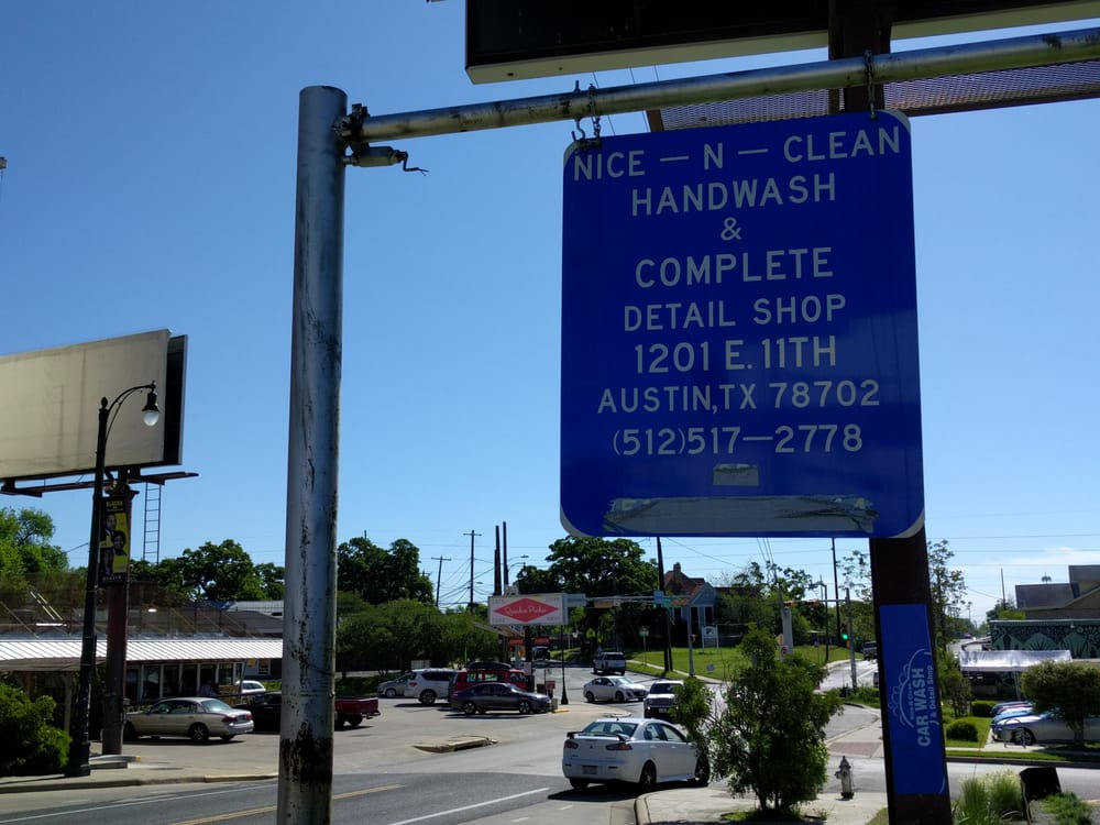 Nice - N - Clean Hand Wash Detail