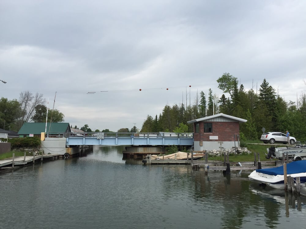 Alanson Swing Bridge: 6332 River St, Alanson, MI
