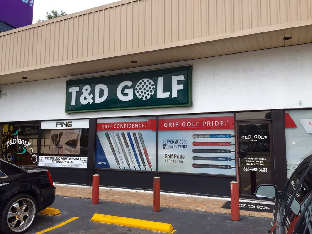 T & D Golf of Tampa: 4205 W Waters Ave, Tampa, FL