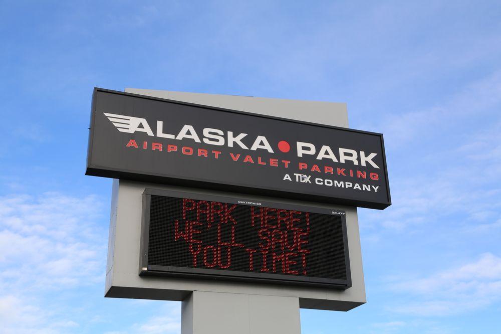 Alaska Park - Airport Valet Parking: 5000 Spenard Rd, Anchorage, AK